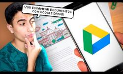 Como DIGITALIZAR DOCUMENTOS para PDF com GOOGLE DRIVE! (ANDROID E iOS)
