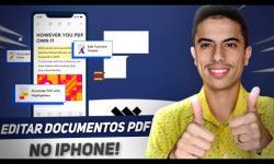 Como EDITAR DOCUMENTOS em PDF pelo iPhone | PDFelement PRO